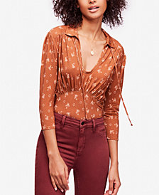 Free People Soraya Printed Top