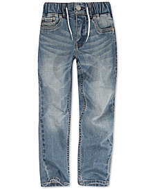 Levi's® Little Boys Drawstring Denim Jogger Pants