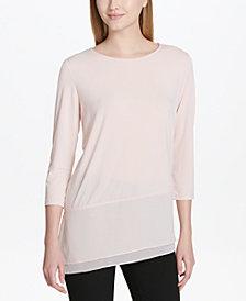 Calvin Klein Asymmetrical Top