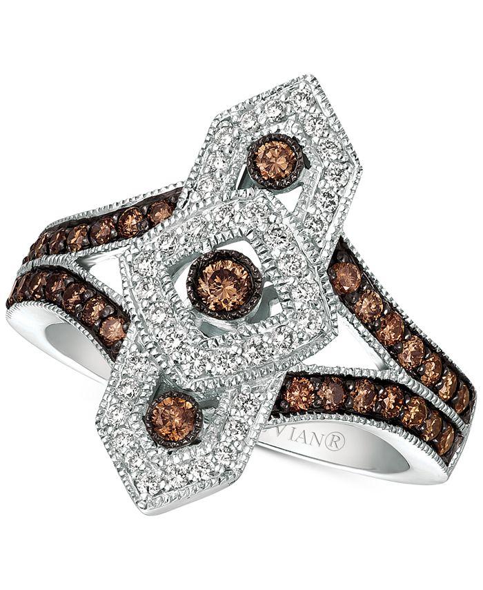 Le Vian - Diamond Ring (3/4 ct. t.w.) in 14k White Gold