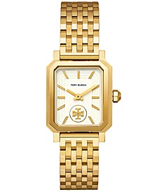 Women's Robinson Gold-Tone Stainless Steel Bracelet Watch 27x29mm