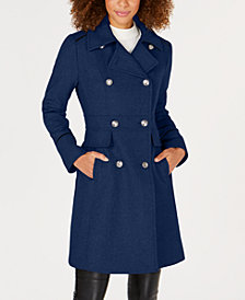 Vince Camuto Wing-Collar Military Coat