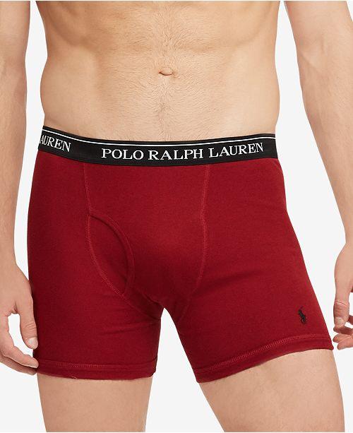 Polo Ralph 1 Boxer Lauren Men's Cotton Briefs3 Knit Classic Fit v7yYb6gIf