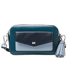 MICHAEL Michael Kors Tricolor Leather Camera Bag