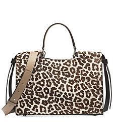 Calvin Klein Callie Leopard Print Tote