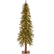National Tree 5' Hickory Cedar Tree with 150 Clear Lights