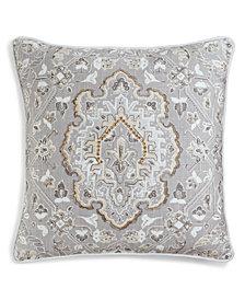 "Lacourte Cadora 20"" Square Decorative Pillow, Created for Macy's"