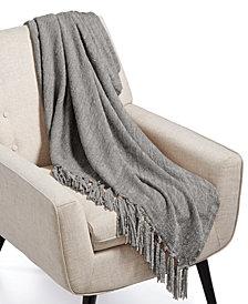 "Lacourte Gareth 50"" x 60"" Chenille Knit Throw, Created for Macy's"