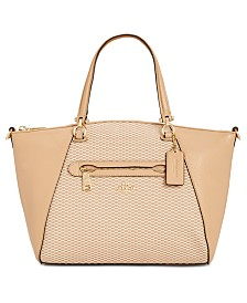 eb7ccafa624 COACH Taylor Tote in Pebble Leather - Handbags   Accessories - Macy s