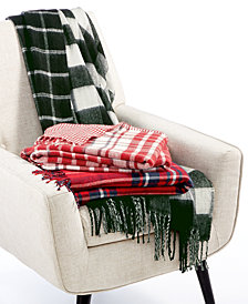 Lacourte Yuletide Throw Collection, Created for Macy's