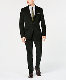 Bar Iii Men S Slim Fit Stretch Corduroy Suit Separates Created For Macy