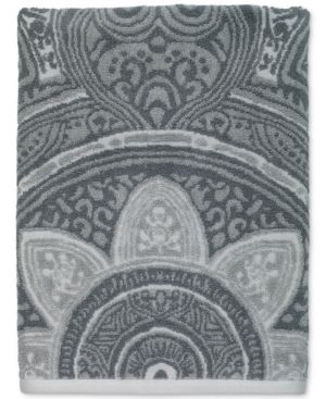 Avanti Sofia Cotton Terry Jacquard Bath Towel Bedding 6686419