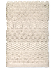 Avanti Checkerboard Cotton Terry Jacquard Hand Towel