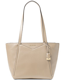 MICHAEL Michael Kors Whitney Pebble Leather Tote