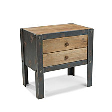 Bolt Sidetable with 2 Drawers
