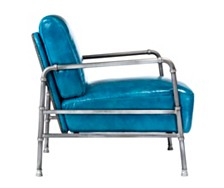 Royce Club Chair Blue