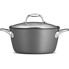 Gourmet Hard Anodized 5 Qt Covered Dutch Oven