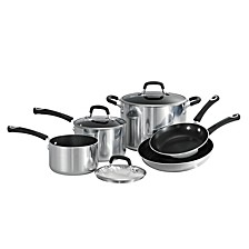 Style Polished 8 Pc Cookware Set