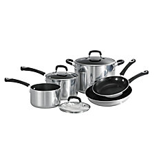Tramontina Style Polished 8 Pc Cookware Set