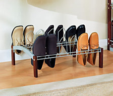 Organize it All 9 Pair Shoe Rack