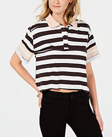 Rules of Etiquette Living Doll Striped Polo Top