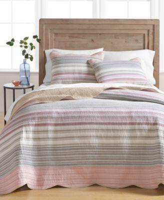 Yarn Dye Twin Bedspread, Created for Macy's