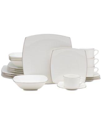 Couture Platinum 20-Pc. Dinnerware Set