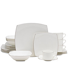 Mikasa Couture Platinum 20-Pc. Dinnerware Set
