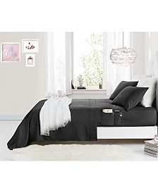 Rampage Benzoyl Peroxide-Resistant Twin XL Sheet Set with Storage Pockets