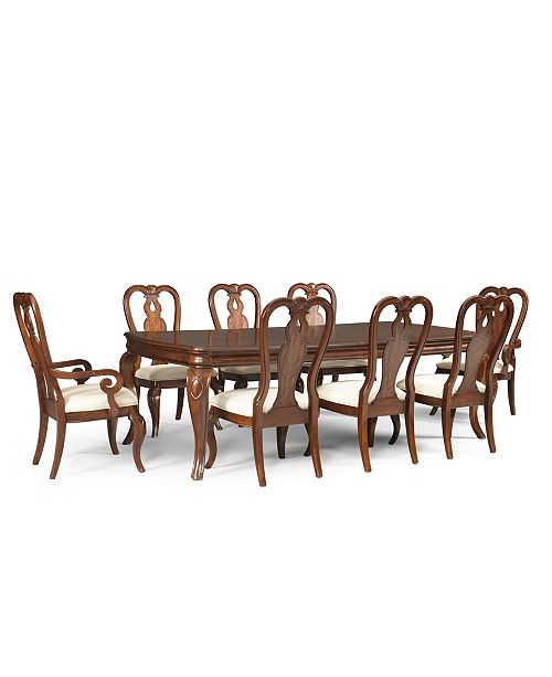 Furniture Bordeaux 9 Piece Dining Room Furniture Set Created For