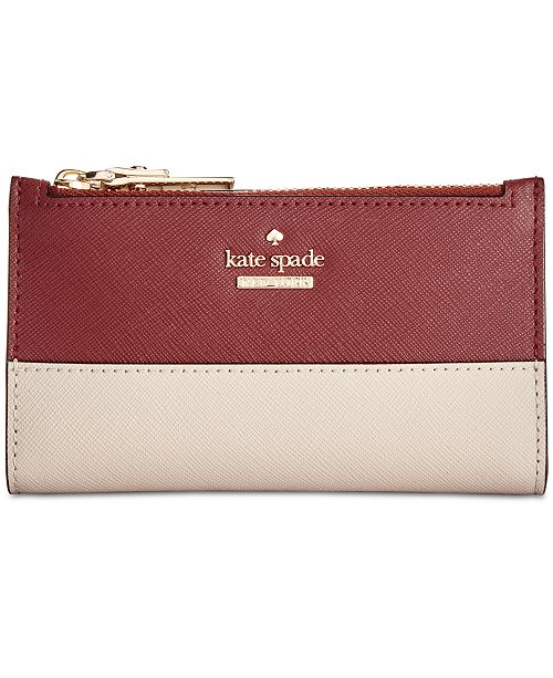 ... kate spade new york Cameron Street Mikey Saffiano Leather Wallet ... e0264b8079b81