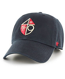 '47 Brand San Francisco 49ers CLEAN UP Strapback Cap