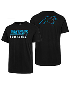'47 Brand Men's Carolina Panthers Fade Back Super Rival T-Shirt