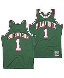 Men's Oscar Robertson Milwaukee Bucks Hardwood Classic Swingman Jersey