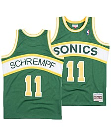 Men's Detlef Schrempf Seattle SuperSonics Hardwood Classic Swingman Jersey