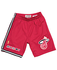 Mitchell & Ness Men's Miami Heat Swingman Shorts