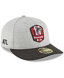 New Era Atlanta Falcons On Field Low Profile Sideline Road 59FIFTY FITTED Cap