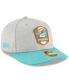 New Era Miami Dolphins On Field Low Profile Sideline Road 59FIFTY FITTED Cap