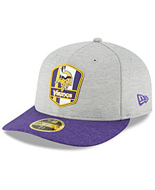 New Era Minnesota Vikings On Field Low Profile Sideline Road 59FIFTY FITTED Cap