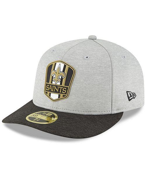 New Era New Orleans Saints On Field Low Profile Sideline Road ... e4bea8240