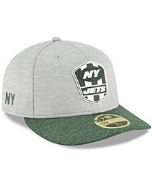 New Era New York Jets On Field Low Profile Sideline Road 59FIFTY FITTED Cap