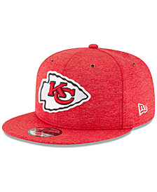 New Era Kansas City Chiefs On Field Sideline Home 9FIFTY Snapback Cap