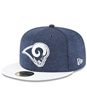 finest selection 2bc2e 16716 New Era Los Angeles Rams On Field Sideline Home 59FIFTY FITTED Cap