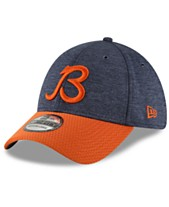 New Era Chicago Bears On Field Sideline Home 39THIRTY Cap 55fb9ffe0