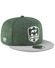 New Era New York Jets On Field Sideline Road 9FIFTY Snapback Cap