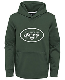Nike New York Jets Circuit Logo Hoodie, Big Boys (8-20)