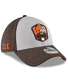 New Era Cleveland Browns On Field Sideline Road 39THIRTY Stretch Fitted Cap