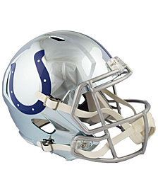 Riddell Indianapolis Colts Speed Chrome Alt Replica Helmet
