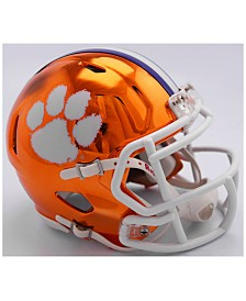 Riddell Clemson Tigers Speed Chrome Alt Mini Helmet