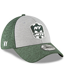 New Era New York Jets On Field Sideline Road 39THIRTY Stretch Fitted Cap